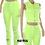 Thumbnail: Denim Distressed Stretch Pants/Vest (Assorted Colors)