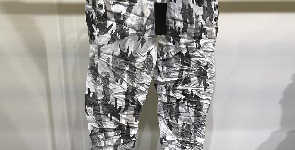 Crinkle Camo Pants