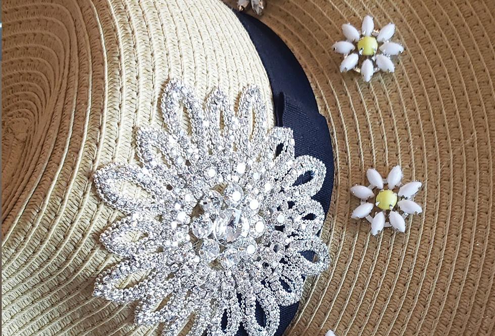 Flower Straw Hat A