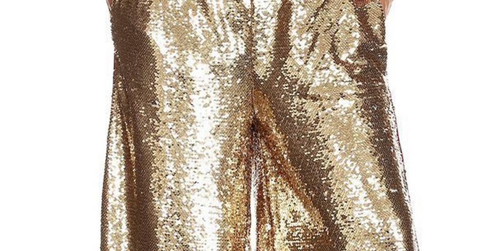 Sequin Gold Pants
