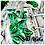 Thumbnail: Swagg Bag (Clear White & Leaf Print)