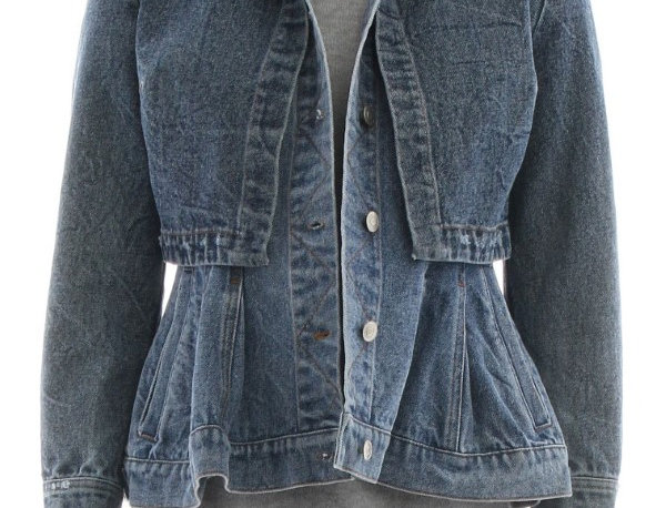 TWO LAYER DENIM JACKET