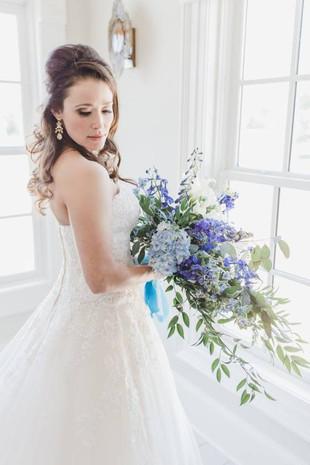 Handtied Asymmetric Bouquet