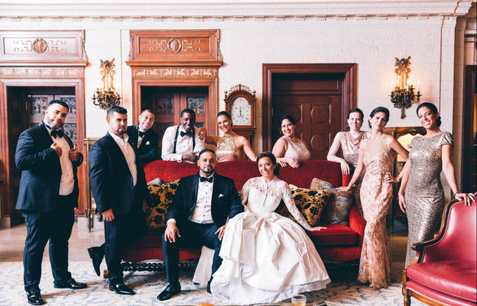 Glamerous DC Wedding