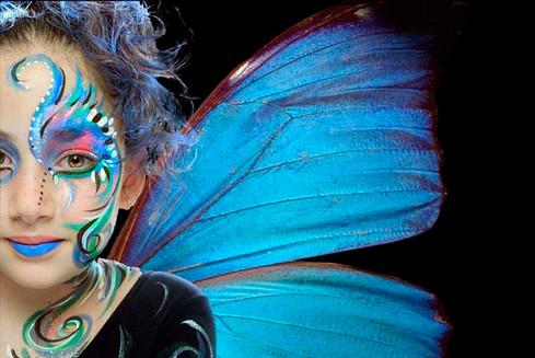 """""""Mariposa azul"""""""