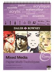 mixed media paper