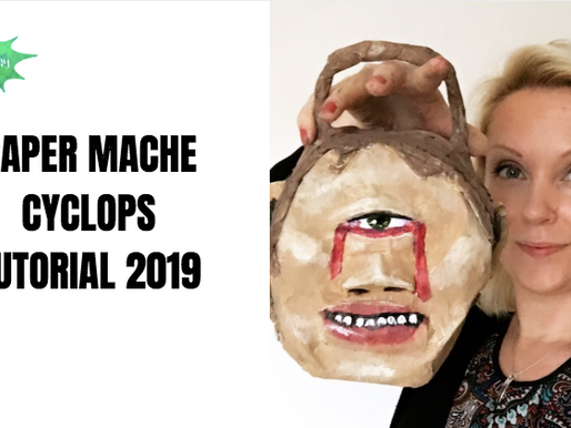 Cyclops paper mache project