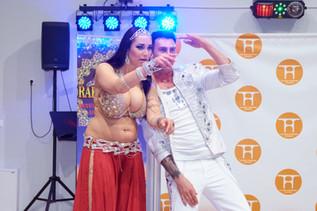Oleksi Ryaboshapka and Valentina