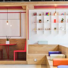 Moderner Design-Arbeitsbereich
