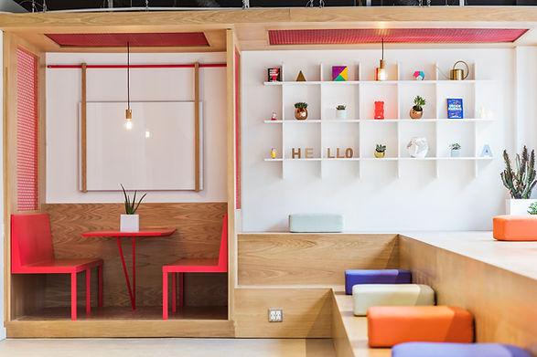 Espacio de trabajo de diseño moderno
