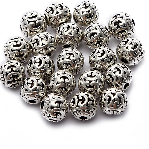 Silver Bead #1