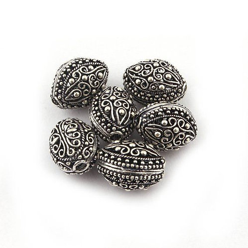 Silver Beads #4