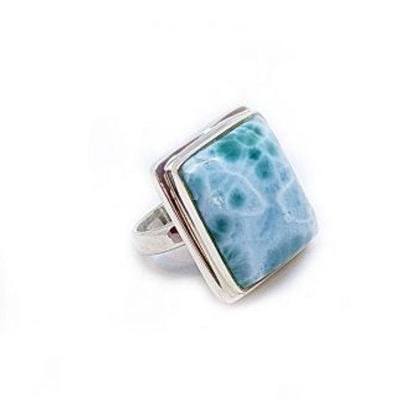 Scorpio Aquamarine Stone Ring