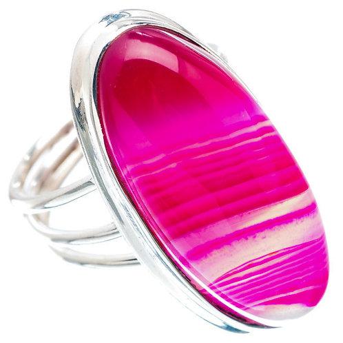 Gemini Agate Stone Ring