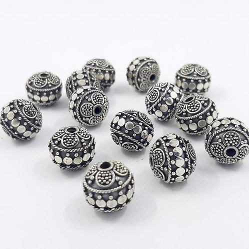 Silver Beads #3