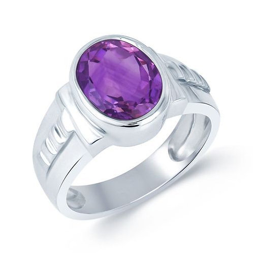 Pisces Amethyst Ring Astrology