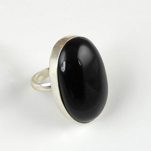 Leo Onyx Stone Ring