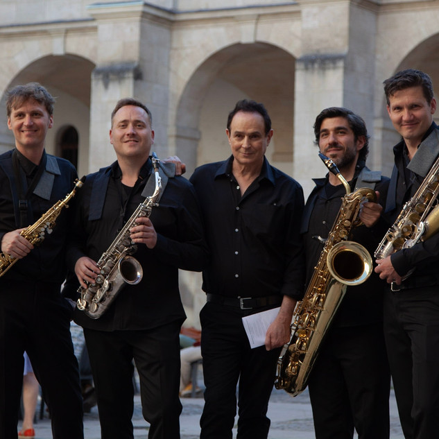 Quatuor de saxophones AMSTEL avec Christian Lauba