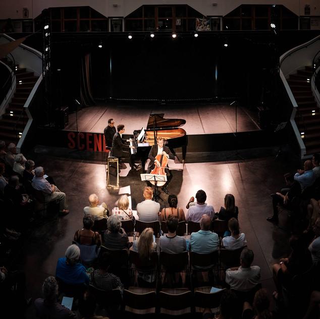 Paolo Rigutto, piano et Jeremy Genet, violoncelle en concert at la grande poste