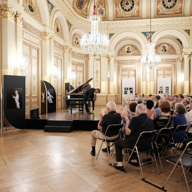 Concert au salon Boirreau, Grand théâtre de Bordeaux