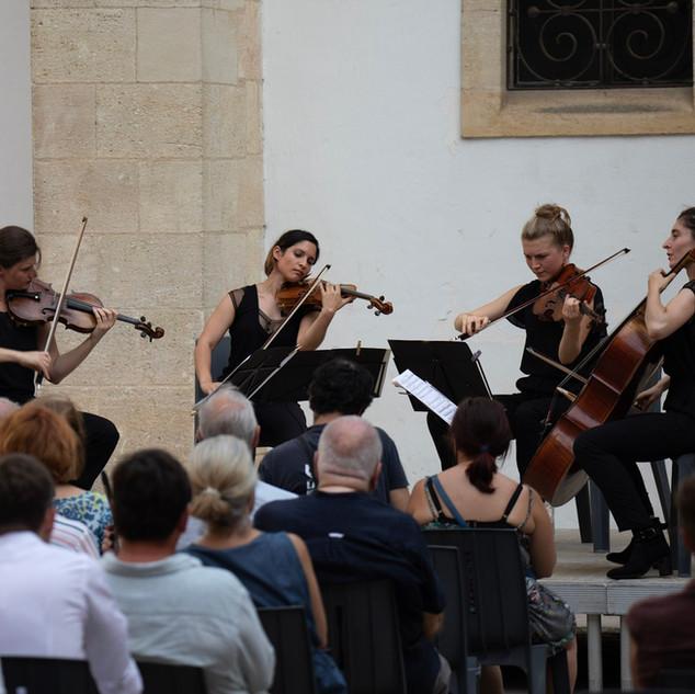 Le quatuor Akilone à la Cour Mably