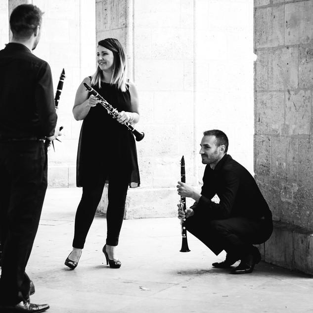 Quatuor de clarinettes Tosca