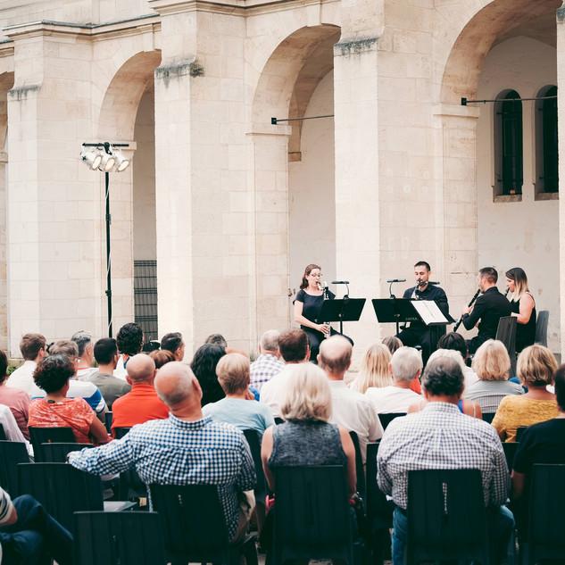 Concert du Quatuor Tosca cour Mably