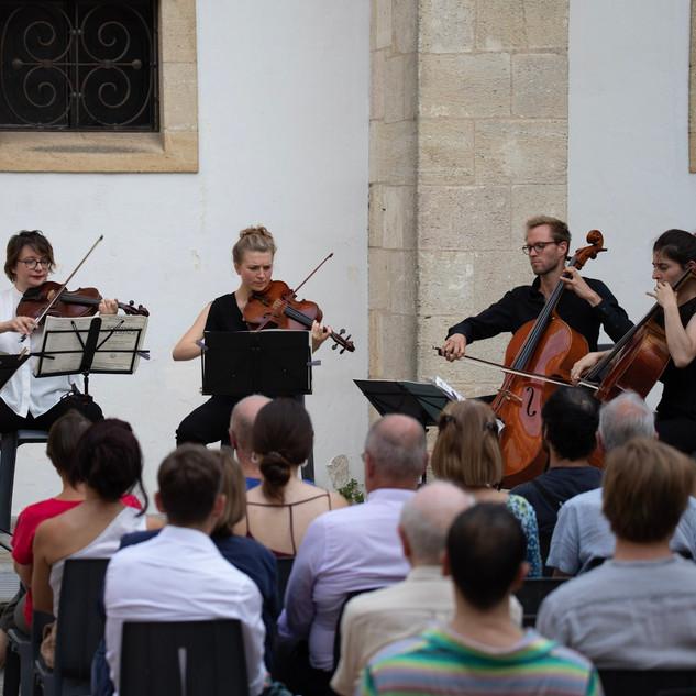 Quatuor Akilone, Hélène Desaint et Jeremy Genet dans Souvenir de Florence de P.I Tchaïkovsky