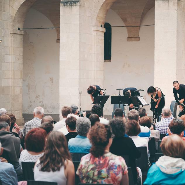 Ovation pour le Quatuor Tosca