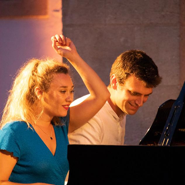 Duo Sarah Margaine et Guilhem Fabre