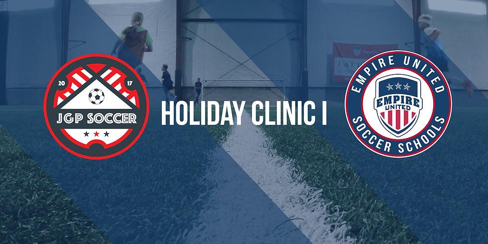 JGP Soccer & Empire United Holiday Clinic I