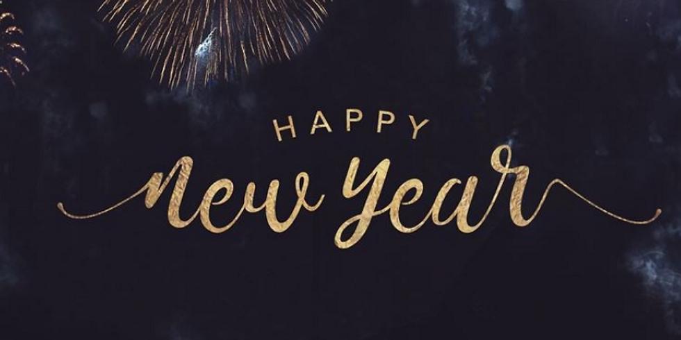 New Year Break  December 31-January 1 2021