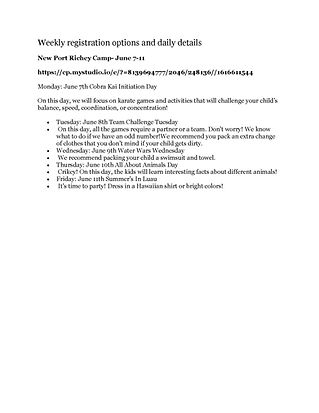 New Port Richey Schedule.jpg