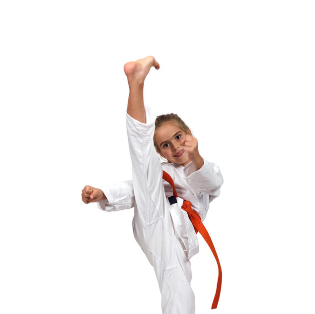 bigstock-Little-Girl-Practice-Karate-100