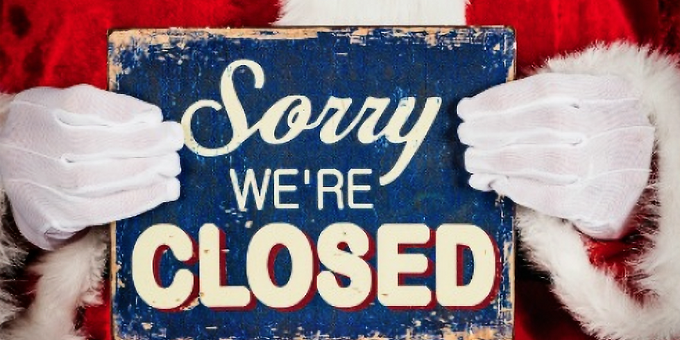 Closed for Labor Day September 6th