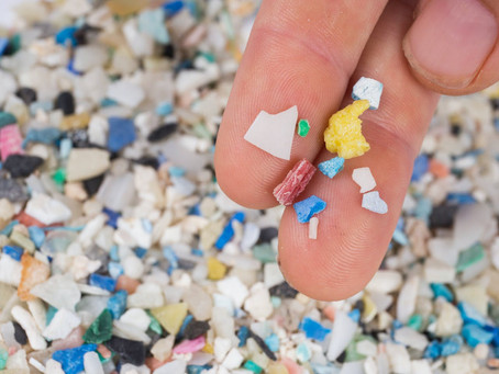 There is more microplastic in the ocean than there are stars in the night sky