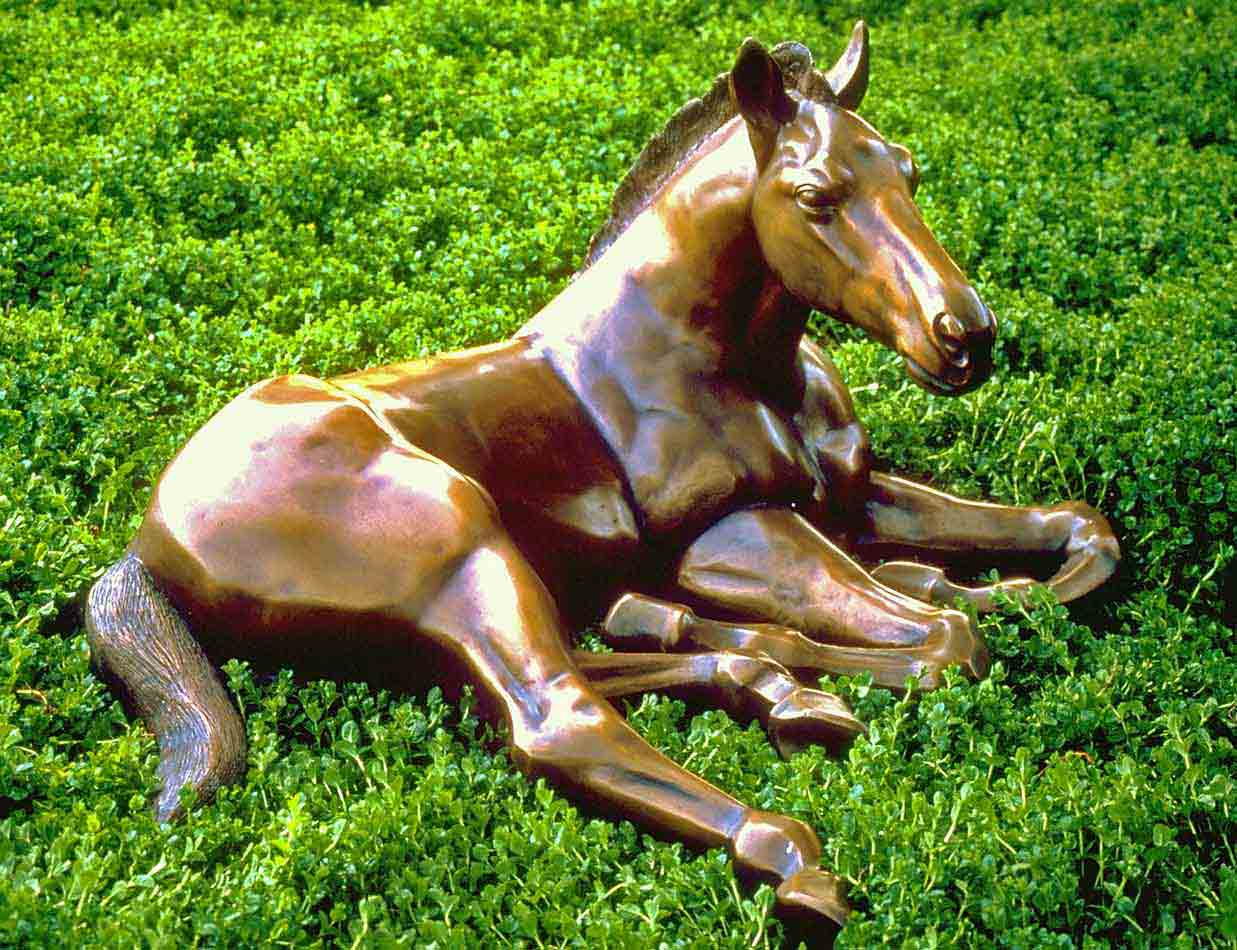 """Reclined Colt"""