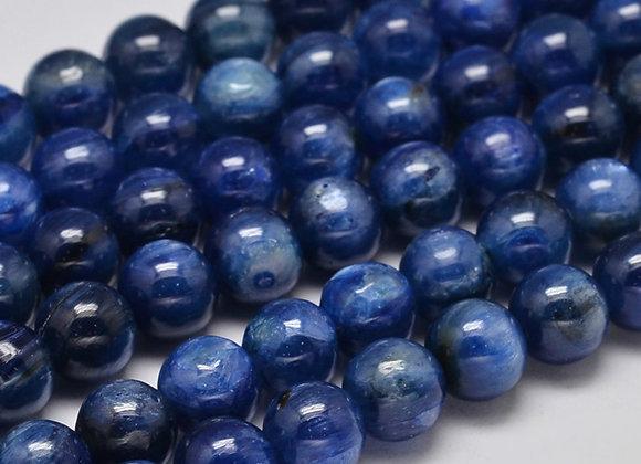 Kyanite 6mm Naturelle - 61 perles par fil