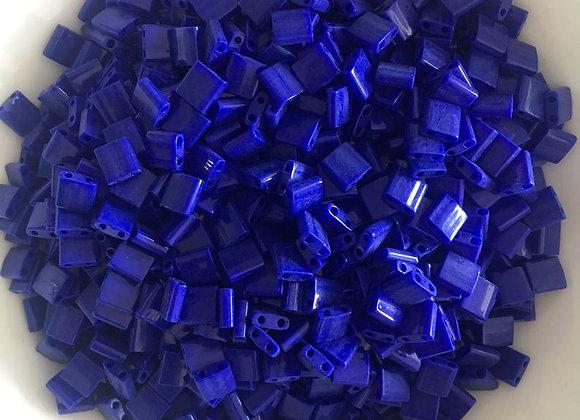 5g Miyuki Tila - Opaque Cobalt - 5x5x1.9mm - TL0414