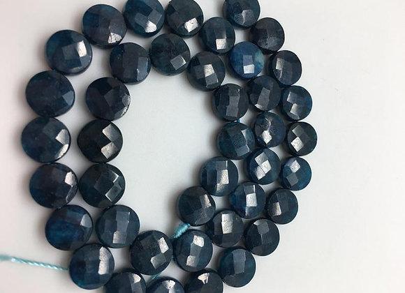 Apatite palet 10x4mm facette - 35 perles par fil