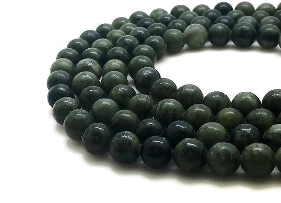 Jade Taïwan 12mm - 32 perles par fil