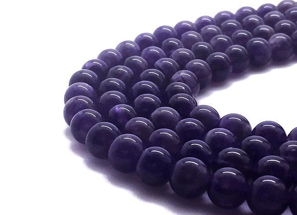 Améthyste Naturelle 8mm - 47 perles par fil