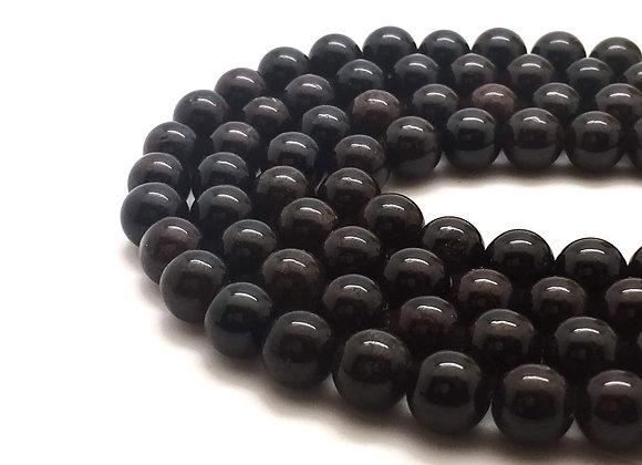 Grenat 4mm Naturel - 89 perles par fil