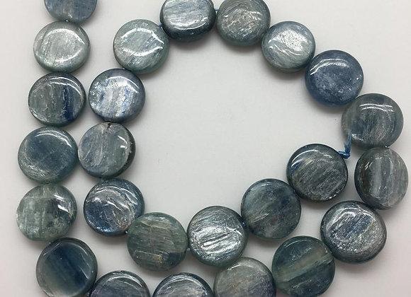 Kyanite palet 16x6mm - 20 perles par fil