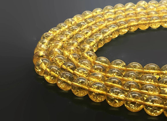 Citrine Naturelle 12mm - 32 perles par fil