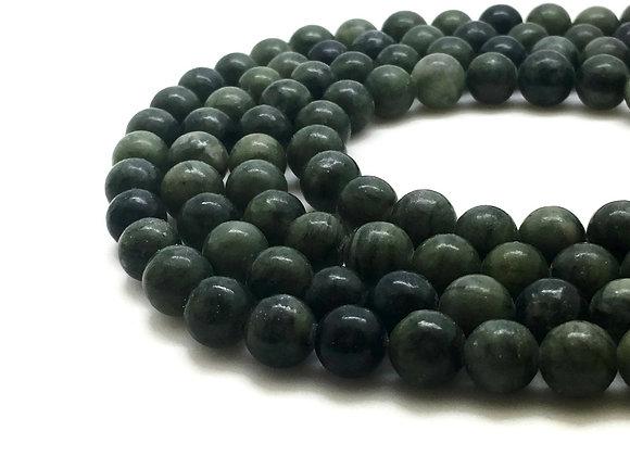 Jade Taïwan 4mm - 89 perles par fil