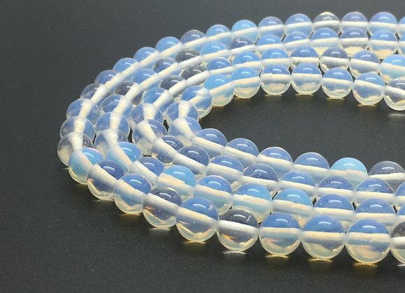 Opaline 4mm - 89 perles par fil