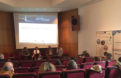 Jorge Revez (ADPM) na sessão de abertura das Jornadas Finais do Projeto VALAGUA.