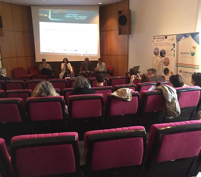 Rosa Nunes (ICNF/DRCNF - Algarve) en la sesión de apertura de las Jornadas Finales del Proyecto VALAGUA.