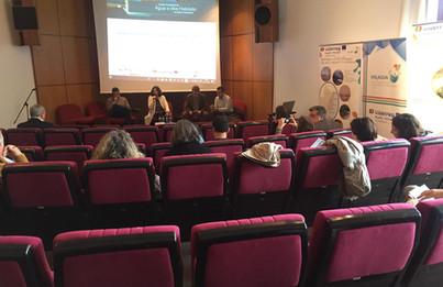 Rosa Nunes (ICNF/DRCNF - Algarve) na sessão de abertura das Jornadas Finais do Projeto VALAGUA.